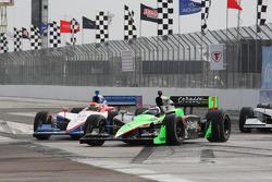 Danica Patrick, Andretti Autosport and Alex Lloyd, Dale Coyne Racing