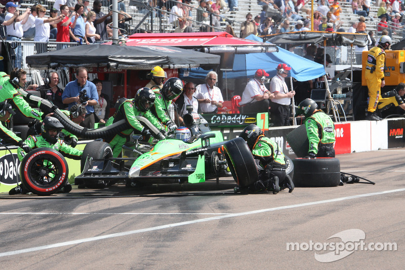 Pitstop Danica Patrick, Andretti Autosport