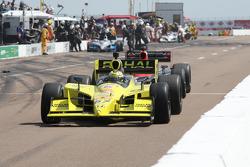 Graham Rahal, Sarah Fisher Racing on pitlane