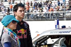 Scott Speed, Red Bull Racing Team Toyota et sa femme Ameta Mathis