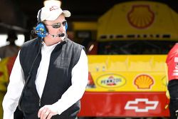 Richard Childress, team owner for the No. 29 Pennzoil team