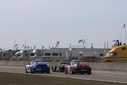 #81 Alex Job Racing Porsche 911 GT3 Cup: Juan Gonzalez, Butch Leitzinger, Leh Keen, #1 Patron Highcr