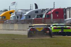 #4 Corvette Racing Chevrolet Corvette ZR1: Olivier Beretta, Oliver Gavin, Emmanuel Collard off-track