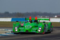 #99 Green Earth Team Gunnar Oreca FLM09: Christian Zugel, Gunnar Jeannette, Elton Julian