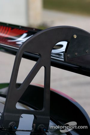 #75 Jaguar RSR Jaguar XKRS rear wing detail