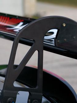 #75 Jaguar RSR Jaguar XKRS aileron arrière détail