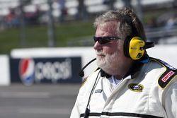 Un officiel des NASCAR Sprint Cup Series
