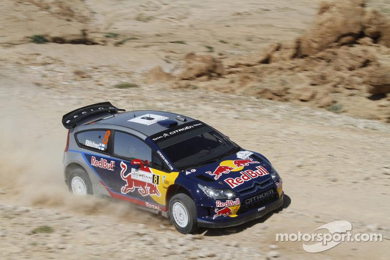 Первые очки в WRC