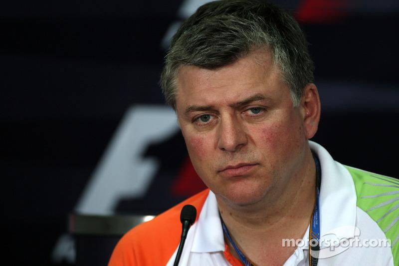 Otmar Szafnauer Force India F1