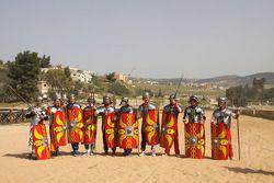 Les pilotes WRC rejoignent l'esprit Gladiateur