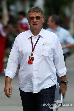 Herman Tilke, designer de circuits de F1