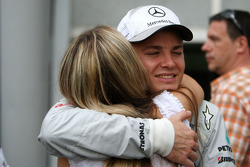 Vivian Sibold la novia de Nico Rosberg, de Mercedes GP y Nico Rosberg, de Mercedes GP