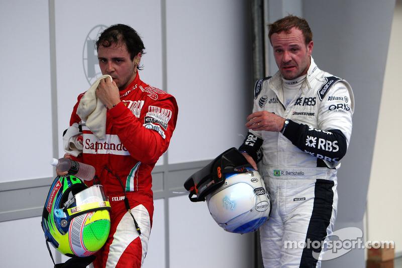 Felipe Massa, Scuderia Ferrari, Rubens Barrichello, Williams F1 Team