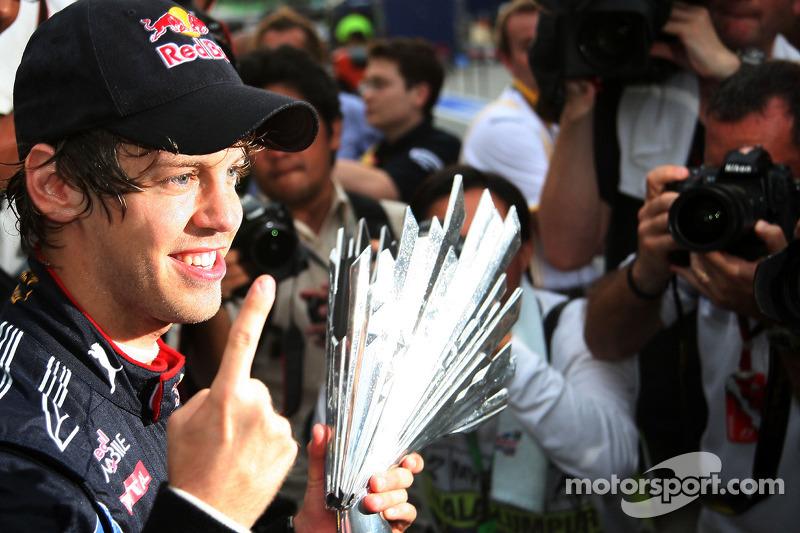 Cuatro victorias de Vettel