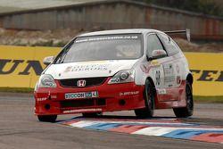 Matt Hamiton TH Motorsport Honda Civic