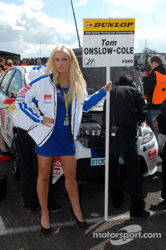 Tom Onslow-Cole's gridgirl