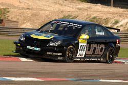 Fabrizio Giovanardi Triple Eight Racing Vauxhall Vectra sparks