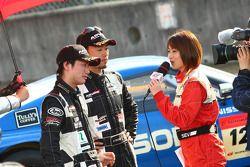 GT300 winnaar #46 Up Start Mola Z: Naoki Yokomizo, Tsubasa Abe
