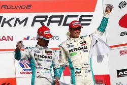 Podium GT500 : 3e #1 Petronas Tom SC430: Juichi Wakisaka, Andre Lotterer