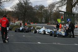 Lining up for Race 1