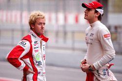 Jules Bianchi y Sam Bird