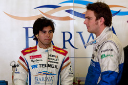 Sergio Pérez y Giedo Van der Garde