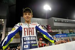 Sesión de fotos de pilotos de MotoGP: Valentino Rossi, Fiat Yamaha Team