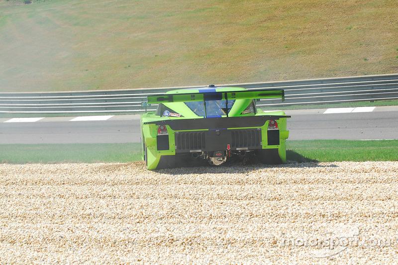 #75 Krohn Racing Ford Lola: Nic Jonsson, Tracy Krohn