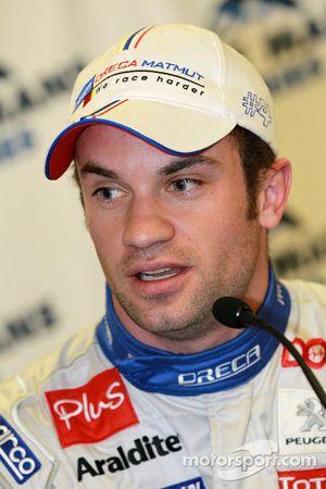Conférence de presse d'après qualifications : LMP1 et toutes catégories poleman Nicolas Lapierre