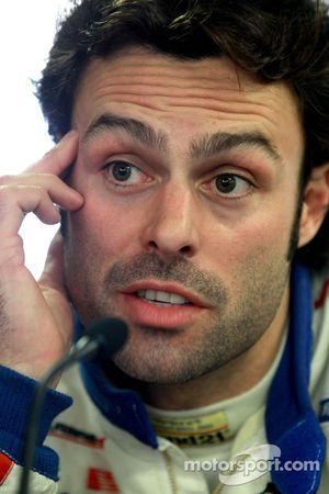 Persconferentie: LMGT1 polezitter Gabriele Gardel