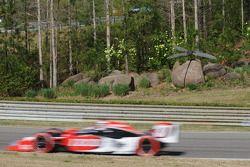 Ryan Hunter-Reay, Andretti Autosport passe la sculpture du moustique
