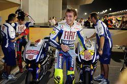 2de snelste Valentino Rossi, Fiat Yamaha Team