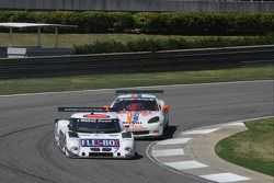 #7 Starworks Motorsports BMW Riley: Bill Lester, Kasper Andersen en #19 Matt Connolly Motorsports Co