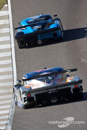 #6 Michael Shank Racing Ford Riley: Brian Frisselle, Michael Valiante et #10 SunTrust Racing Ford Da