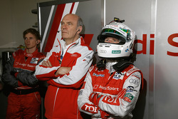 Dr. Wolfgang Ullrich and Allan McNish