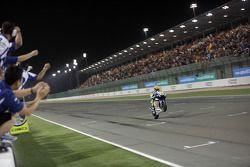 Valentino Rossi, Fiat Yamaha Team aan de finish