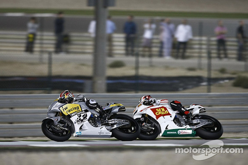 Hiroshi Aoyama, Interwetten Honda MotoGP, Marco Simoncelli, San Carlo Honda Gresini