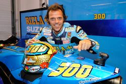 Loris Capirossi, Rizla Suzuki MotoGP fête son 300e Grand Prix