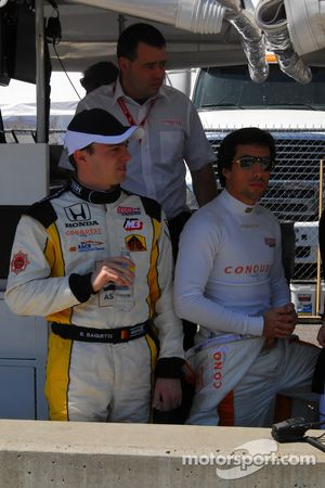 Bertrand Baguette et Mario Romancini