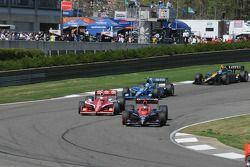 Marco Andretti, Andretti Autosport passe Scott Dixon, Target Chip Ganassi Racing