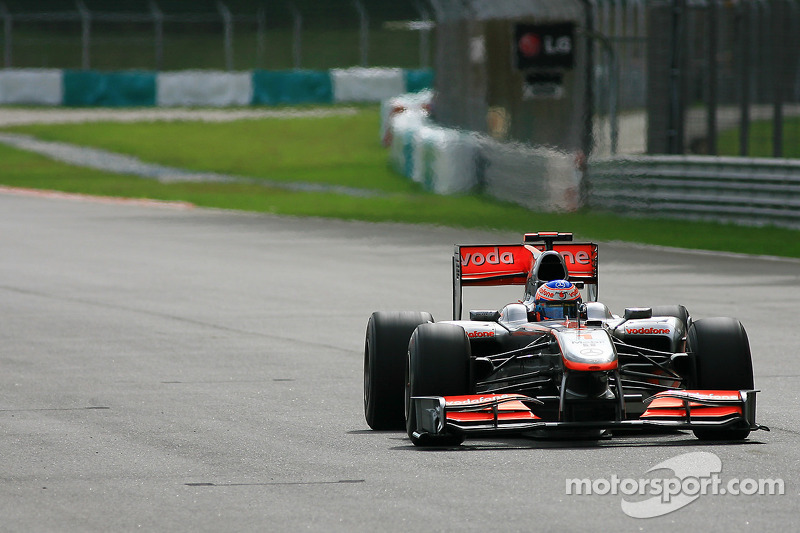 Jenson Button, McLaren-Mercedes MP4/25 (2010)