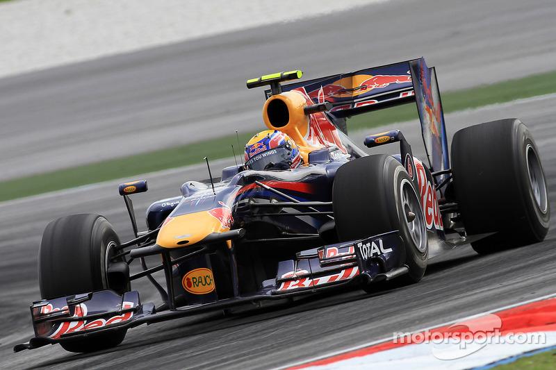 20º Mark Webber - 14 corridas - De Brasil 2010 até Bélgica 2011 - Red Bull