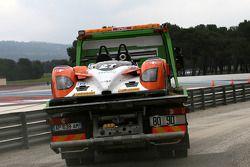#27 Race Performance Radical SR9 - Judd sur la dépanneuse