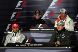 Льюис Хэмилтон, McLaren Mercedes, Себастьен Буэми, Scuderia Toro Rosso, Михаэль Шумахер, Mercedes GP
