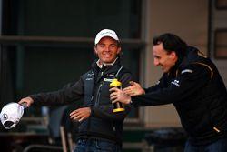 Nico Rosberg, Mercedes GP, Robert Kubica, Renault F1 Team