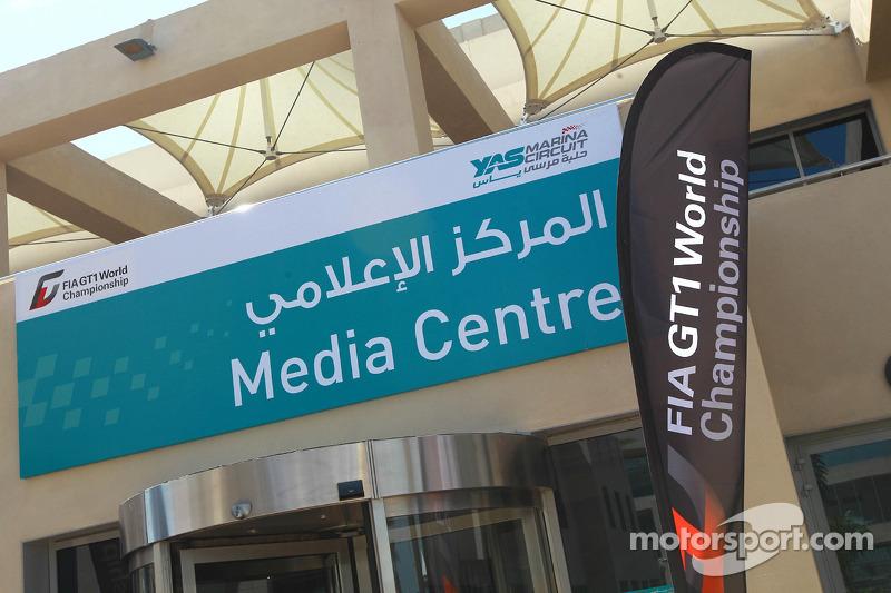 Yas Marina Circuit mediacenter