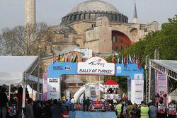 سيباستيان لوب، دانيال إيلينا، فريق سيتروين العالمي للراليات، رالي تركيا