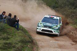 Мэттью Уилсон и Скотт Мартин, Ford Focus RS WRC 08, Stobart VK M-Sport Ford Rally Team