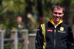 Alan Permaine, Renault F1 Team, Engineer