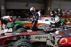 Sebastian Vettel, Red Bull Racing prend la pole position